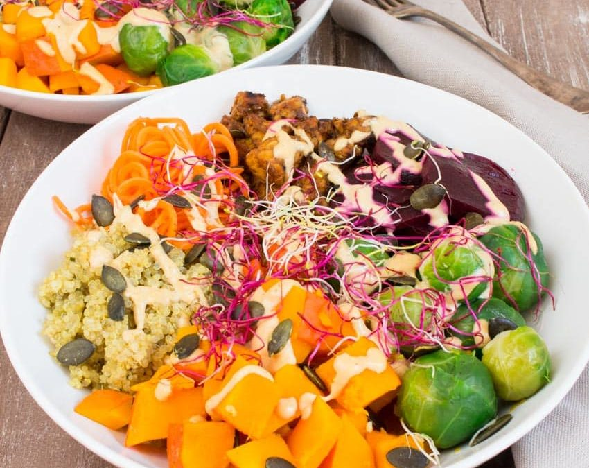 Fall Harvest Buddha Bowl