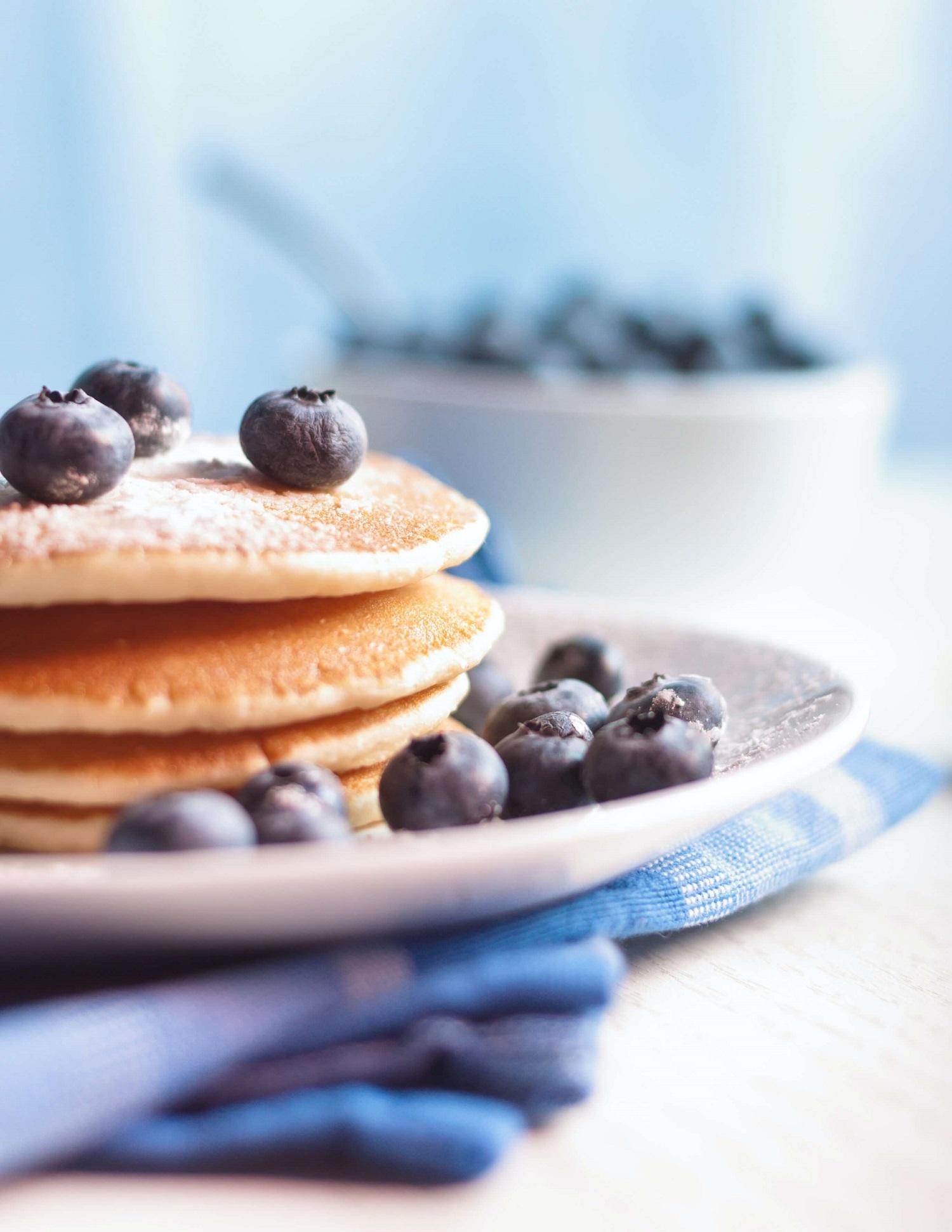 blueberry and lemon pancake recipe