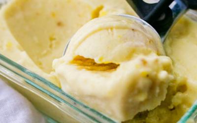 Vegan Piña Colada Ice Cream
